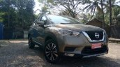 Indian Spec Nissan Kicks Front Three Quarters Righ