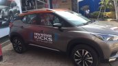 Indian Spec Nissan Kicks Right Side At Dealership