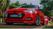 Modified Low Rider Cars Hyundai Elite I20