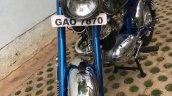 Restored Rajdoot Gts 175 By R Deena Left Front Qua