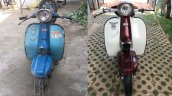 Rajdoot Runabout Before And After Restoration