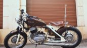 Yezdi 250 Bobber By Indi Custom Garage Left Side