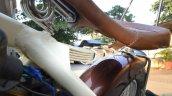 Yezdi 250 Bobber By Indi Custom Garage Seat