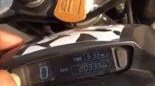 2019 Bajaj Dominar Instrument Console 2
