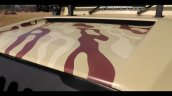 Brown Mahindra Thar Wanderlust Decal Bonnet