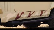 Brown Mahindra Thar Wanderlust Decal Side