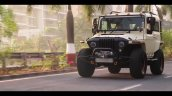 Brown Mahindra Thar Wanderlust Front Three Quarter