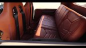 Brown Mahindra Thar Wanderlust Interior Rear Seats