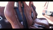 Brown Mahindra Thar Wanderlust Interior Seats