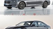 2019 Bmw 7 Series Vs 2016 Bmw 7 Series Front Three