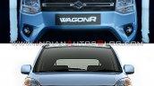 2019 Maruti Wagon R Vs 2013 Maruti Wagon R Front