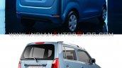 2019 Maruti Wagon R Vs 2013 Maruti Wagon R Rear Th