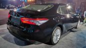 2019 Toyota Camry Hybrid Image Rear Three Quarter