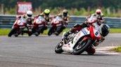 Honda Rider Abhishek Vasudev 9 Clinches The First