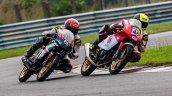 Honda Rider Mathana Kumar 46 Secures The Second Fi