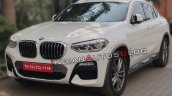 Bmw X4 Front Three Quarters Spy Shot India