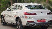 Bmw X4 Rear Three Quarters Spy Shot India