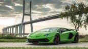 Lamborghini Aventador Svj Front Three Quarters Gre