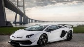 Lamborghini Aventador Svj Front Three Quarters Whi