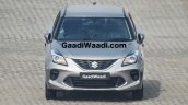 2019 Maruti Baleno Facelift Front Spy Photo