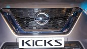 Nissan Kicks India Launch Event Grille