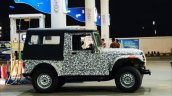 2020 Mahindra Thar Profile Spy Shot