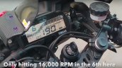 Yamaha R15 V3 Hits 190 Kph At 16000 Rpm