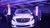 Mercedes V Class Exclusive Front