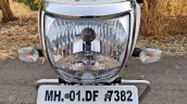 Tvs Radeon Road Test Review Detail Shots Headlight