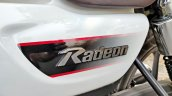 Tvs Radeon Road Test Review Detail Shots Side Pane