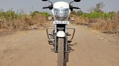 Tvs Radeon Road Test Review Still Shots Front
