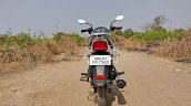 Tvs Radeon Road Test Review Still Shots Rear