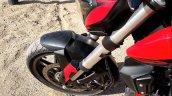 2019 Bajaj Dominar 400 First Impressions Front Sus