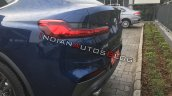 Bmw X4 Tail Lamp Live Image