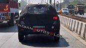 Hyundai Styx Hyundai Qxi Rear Spy Photo