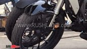 Honda Cb300r Spotted In India Front Wheel