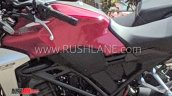 Honda Cb300r Spotted In India Fuel Tank