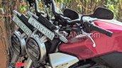 Honda Cb300r Spotted In India Headlight