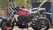 Honda Cb300r Spotted In India Left Side