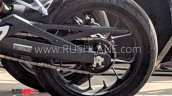 Honda Cb300r Spotted In India Rear Wheel