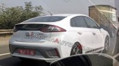 Hyundai Ioniq Electric Rear Three Quarters Spy Sho