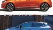 2019 Renault Clio Vs 2016 Renault Clio Profile