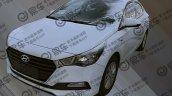 Hyundai Verna 1 4l Cvt Front Three Quarters Spy Sh