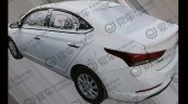 Hyundai Verna 1 4l Cvt Rear Three Quarters Spy Sho