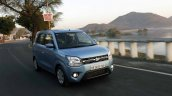 2019 Maruti Wagon R Review Images Action Front Thr