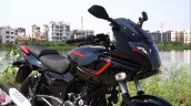 Bajaj Pulsar 180f Right Front Quarter Close Up