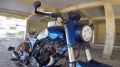 Kawasaki Bajaj Caliber 115 Scrambler Front Quarter
