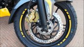 Bajaj Pulsar Ns200 Abs Yellow Front Disc Brake Wit