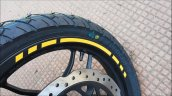 Bajaj Pulsar Ns200 Abs Yellow Front Tyre