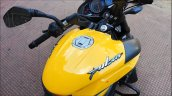 Bajaj Pulsar Ns200 Abs Yellow Fuel Tank Top